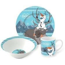 Frozen - Olaf And Sven Breakfast / Dinner Set - New & Official Disney In Pack