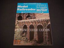 The Model Railroader Magazine ,August 1978,Crossing Coolie Canyon