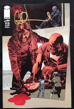 IMAGE COMICS THE WALKING DEAD #115 COVER D SIGNED BY CHARLIE ADLARD W/COA