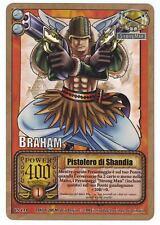 ONE PIECE CCG • Brahm Pistolero di Shandia RARA FOIL ITA CS-C14 All'Arrembaggio