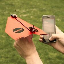 PowerUp 3.0 Smartphone Controlled Paper Airplane Toy Gadget - Boxed Gift iPhone