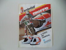 advertising Pubblicità 1990 CASCO HELMET BIEFFE CHESTERFIELD SCOUT