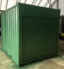 10ft / 3m long approx 8'6 High shipping container / storage shed