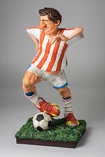 "Guillermo Forchino Comic The Soccer Player 16"" Art Figurine Sculpture Statue"