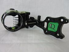 IQ Micro Compound Bow sight Retina Lock 5 pin Black Right Hand #322