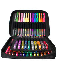ColorIt 48 Gel Pen Set w/ Case PLUS 48 Ink Refills Glitter, Metallic, Neon - NEW