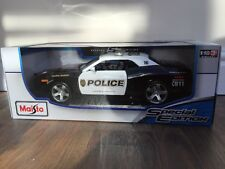 2006 Dodge Challenger Concept Police Car1:18 Maisto Special Edition