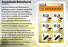 █ Snowdonia Bonuskarte - Pen-Y-Gwryd Hotel - NEU █