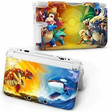 New POKEMON image Protective Hard Case Cover Skin For old style Nintendo 3DS XL