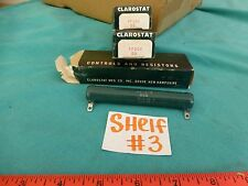 Clarostat VP50K 50 Lot of 3 Control Resistors