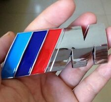 New 3D M Badge ///M Rear Trunk EMBLEM ABS Sticker Logo Decal M-Series M3 M4 M5