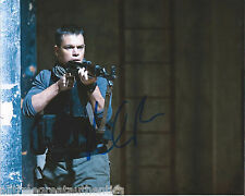 MATT DAMON HAND SIGNED GREEN ZONE ROUNDERS BOURNE IDENTITY 8X10 PHOTO B w/COA