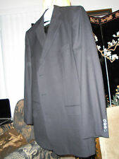 ERMENEGILDO ZEGNA Trofeo  JACKET 44L BLACK WOOL ABSOLUTELY STUNNING SWITZERLAND