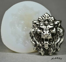 LION ORNAMENT SILICONE MOLD FOOD USE POLYMER CLAY RESIN FIMO MOULD WAX PLASTER