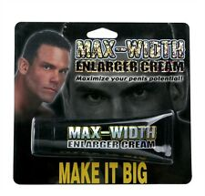 MAX WIDTH ENLARGER CREAM PERSONAL LUBRICANT PIPEDREAM Size may or may not matter