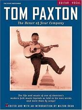 Tom Paxton - The Honor of Your Company ~ Paxton, Tom PB