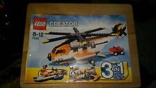 LEGO 7345 Transport Chopper Helicopter Creator 3 in 1 Ferry, Seaplane