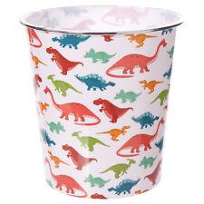 Handy Plastic Waste Paper Bin - Dinosaur Design
