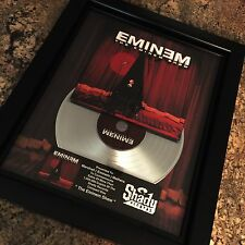 Eminem The Eminem Show Platinum Record Disc Album Music Award MTV Grammy RIAA