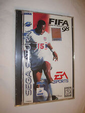 FIFA: Road To World Cup 98 (Sega Saturn) New, Sealed!