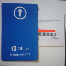 Genuine Microsoft Office 2013 Professional Plus Windows