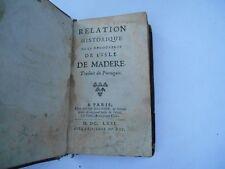 Alcaforado F. Relation historique de la découverte de l'isle de Madere.  1671