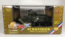 Ultimate Soldier 32X 21st Century Toys WWII 1:32 US M2 Halftrack Tank