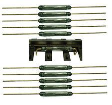 10 Stück Reedkontakt 13mm x 2mm Miniatur Reedschalter