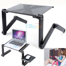 Adjustable Portable Folding Table Desk Stand Tray Fr Computer Laptop Notebook PC