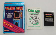 Complete Working Intellivision Donkey Kong R6325