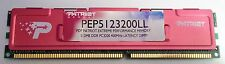 Patriot 512 MB PEP5123200LL PC3200 400MHz DDR Memory Red Heat Sink