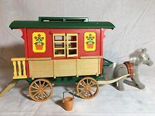 Calico critters/sylvanian families Vintage Gypsy caravan