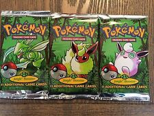 Pokemon Jungle Booster 1ST Edition USA Pack  NOT WEIGHED Factory Sealed (1 PACK)