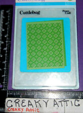 MOROCCAN SCREEN EMBOSSING 1 FOLDER DRY EMBOSS CUTTLEBUG NIP CROSSES FLOWERS