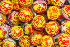 Chupa Chups Lollipops 3lb Assorted Flavor Classic Retro Bulk Candy FREE SHIPPING