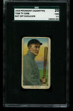 1910 T206 Piedmont TY COBB Bat off Shoulder Detroit HOF SGC 1.5