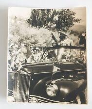 Photo Haile Selassie Emperor of Ethiopia Visits USSR Yalta