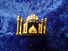 beautiful brooch__Pierre Lang__Mosque__ with Glitter stones