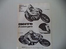 advertising Pubblicità 1977 CASCO BIEFFE HELMETS PIERPAOLO BIANCHI/LAZZARINI