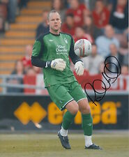 NOTTINGHAM FOREST HAND SIGNED PAUL SMITH 10X8 PHOTO.