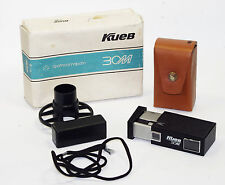 KIEV 30M Russian 16mm mini camera USSR Vintage Spy KGB w/ box spool 1989 Good