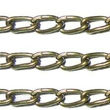 5 meters Bronze Mini Cable Chain - 1.3x1.3mm - A5406