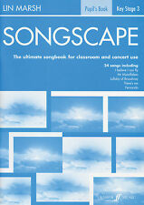 Songscape Pupils Children Piano Voice Guitar Learn to Play FABER Music BOOK