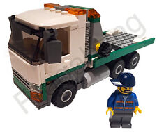 LEGO 60097 City Square Flatbed Truck & Driver Only (Split From 60097)