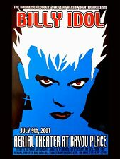"Billy Idol Aerial Theatre 16"" x 12"" Photo Repro Concert Poster"