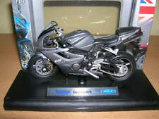 Welly Triumph Daytona 675 gris / antracita Moto Moto, 1:18