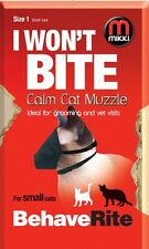 Mikki Training Calm Cat Muzzle, Size 2,  Premium Service Fast Dispatch
