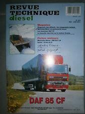DAF 85 CF 250 280 315 ch : revue technique RTD 229