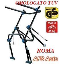 PORTABICI POSTERIORE AFS PER 3 BICI VOLVO XC60 ANNO 2011 OMOLOGATO MADE IN ITALY