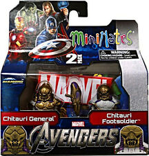 Marvel MiniMates Series 45 Avengers Movie 2 Pk  Chitauri General & Footsoldier